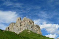 De bergen van dolomietalpen Royalty-vrije Stock Afbeelding