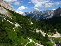 De Bergen van Dolomiti Royalty-vrije Stock Fotografie