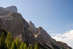 De bergen van Dolomiti Royalty-vrije Stock Afbeelding