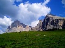 De bergen van Dolomiti Royalty-vrije Stock Foto