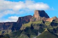 De Bergen van Drakensberg stock foto
