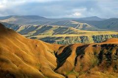 De Bergen van Drakensberg stock afbeelding