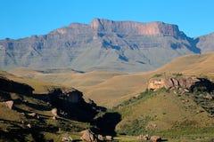 De Bergen van Drakensberg royalty-vrije stock foto's