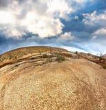 De bergen van Emel Aktau van Altyn in Kazachstan Royalty-vrije Stock Fotografie