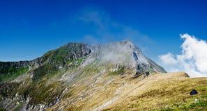 De bergen van Fagaras Royalty-vrije Stock Foto's