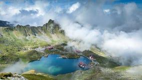 De Bergen van Fagaras, Roemenië Het gebied van Transsylvanië royalty-vrije stock foto