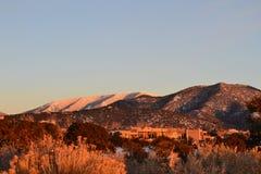 Fe Mountainscape 1 van de kerstman Royalty-vrije Stock Fotografie