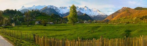 De bergen van Georgië Royalty-vrije Stock Afbeelding