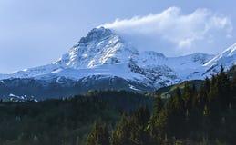 De bergen van Georgië Royalty-vrije Stock Afbeeldingen