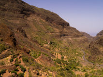 De Bergen van Gran Canaria stock foto