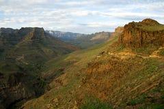 De bergen van Gran Canaria stock foto's