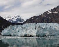 De bergen van heilige Elias en Margerie-gletsjer royalty-vrije stock afbeelding