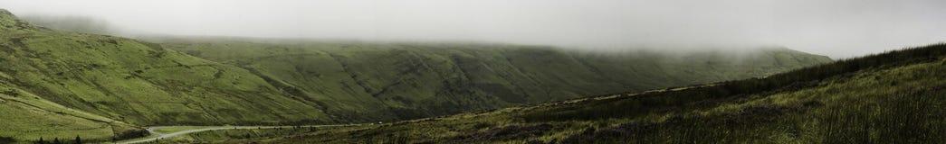 De Bergen van het Baken van Brecon van het landschap, Wales Royalty-vrije Stock Afbeelding