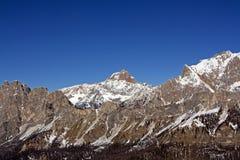 De bergen van het dolomiet Royalty-vrije Stock Fotografie