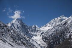 De bergen van het Himalayagebergte Royalty-vrije Stock Afbeelding