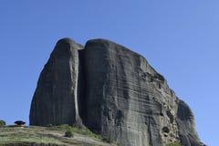 De bergen van het Meteoraklooster Stock Fotografie