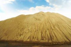 De bergen van het zand Stock Foto