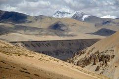 De bergen van Himalayagebergte Stock Afbeelding