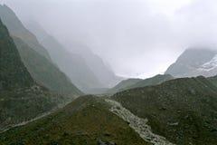 De bergen van Himalayagebergte Stock Foto's