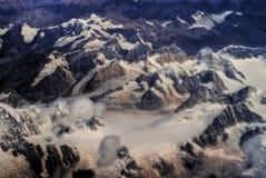 De bergen van Himalayagebergte Royalty-vrije Stock Foto