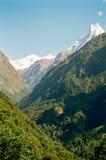 De Bergen van Himalayagebergte van Annapurna, Nepal Royalty-vrije Stock Fotografie
