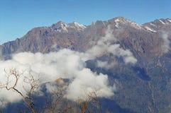De bergen van Himalayan Stock Fotografie