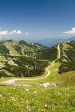 De bergen van Hochkar Stock Foto's