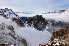 De bergen van Innsbruck Stock Foto