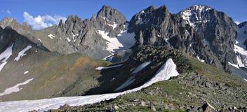 De bergen van Kackar Stock Afbeelding