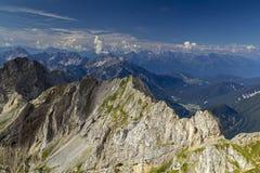 De Bergen van Karwendel Stock Afbeelding