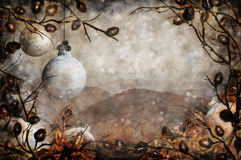 De bergen van Kerstmis Stock Foto