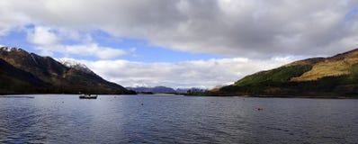 De Bergen van Loch Leven Stock Fotografie