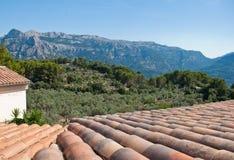 De Bergen van Majorca Stock Foto's