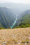 De bergen van Montenegro Stock Afbeeldingen