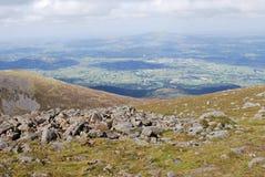 De Bergen van Mourne, Noord-Ierland Stock Foto