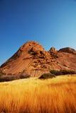 De bergen van Namibië Stock Foto