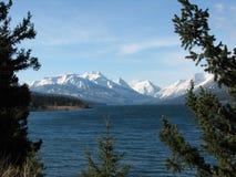 De bergen van Niut Royalty-vrije Stock Afbeeldingen