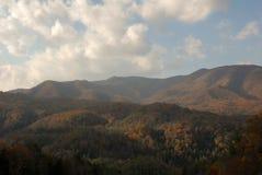 De Bergen van Noord-Carolina Royalty-vrije Stock Afbeelding