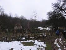 De bergen van oostelijk Servië Stock Afbeelding