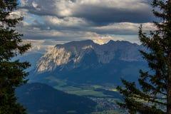 De bergen van Oostenrijk Royalty-vrije Stock Fotografie