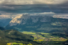 De bergen van Oostenrijk Stock Afbeelding