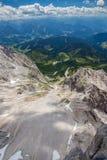 De bergen van Oostenrijk Royalty-vrije Stock Afbeeldingen