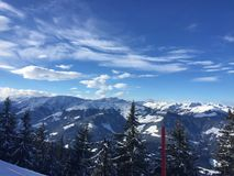 De bergen van Oostenrijk Royalty-vrije Stock Afbeelding