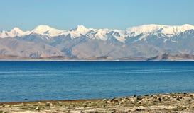 De bergen van Pamir Royalty-vrije Stock Foto