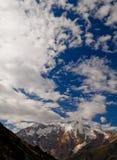 De bergen van Pamir Stock Foto's