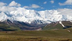 De bergen van Pamir - dak van de wereld - Kyrgyzstan Royalty-vrije Stock Afbeelding
