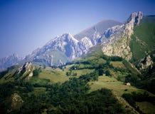 De bergen van Picos DE europa Royalty-vrije Stock Afbeeldingen