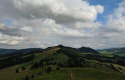 De bergen van Pieniny Royalty-vrije Stock Foto