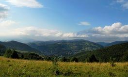 De bergen van Pieniny Royalty-vrije Stock Afbeelding