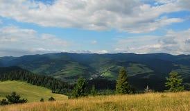 De bergen van Pieniny Royalty-vrije Stock Afbeeldingen